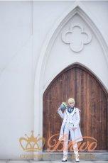 画像15: Fate/Grand Order FGO 白亜の薔薇 ホワイトローズ アーサー・ペンドラゴン コスプレ衣装 (15)