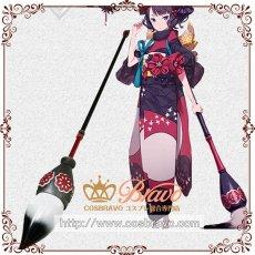 画像1: Fate/Grand Order FGO 葛飾北斎 霊基再臨 第1段階 筆 コスプレ道具 総長2.1メートル (1)