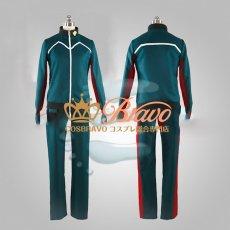 画像3: イナズマイレブン アレスの天秤 帝国学園 風丸一郎太 ジャージ コスプレ衣装 (3)