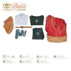 画像14: Fate/Grand Order FGO ウェイバー・ベルベット エルメロイII 諸葛孔明 コスプレ衣装 第三再臨 キャスター (14)