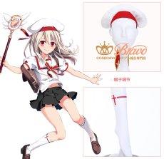 画像6: Fate/Grand Order Fate/kaleid liner プリズマ☆イリヤ イリヤスフィール・フォン・アインツベルン コスプレ衣装 キャスター (6)