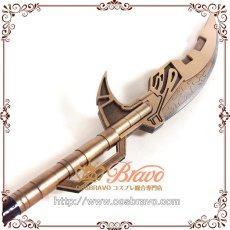 画像3: アベンジャーズ3 インフィニティ・ウォー コーヴァス・グレイヴ 槍 武器 コスプレ道具170cm  (3)