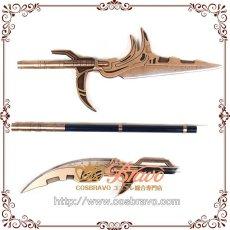 画像5: アベンジャーズ3 インフィニティ・ウォー コーヴァス・グレイヴ 槍 武器 コスプレ道具170cm  (5)