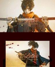 画像6: Fate/Grand Order FGO ぐだぐだ帝都聖杯奇譚 岡田以蔵 コスプレ衣装 霊基再臨 第一段階 (6)