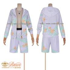 画像5: FateGrand Order FGO 霊衣開放 水着 ロビンフッド コスプレ衣装 (5)