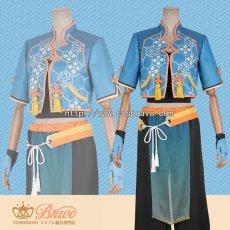画像1: あんさんぶるスターズ! 対向!星合う夜の天球戯 明星スバル コスプレ衣装 (1)