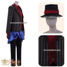 画像2: ヒプノシスマイク Limited Base 山田二郎 コラボグッズ衣装 スーツ コスプレ衣装 (2)