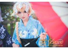 画像5: Fate Grand Order FGO 浴衣 ジャンヌ・ダルク/ジャンヌ・オルタ コスプレ衣装 (5)