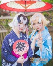 画像3: Fate Grand Order FGO 浴衣 ジャンヌ・ダルク/ジャンヌ・オルタ コスプレ衣装 (3)
