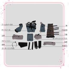 画像8: NieR Automata ニーアオートマタ DLC 露出の多い女性の服 2B前作キャラ カイネ衣装コスプレ衣装 (8)
