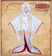 画像2: 第五人格 IdentityV 白無垢 芸者 美智子 コスプレ衣装 (2)