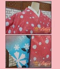 画像5: 鬼滅の刃 猗窩座の妻 恋雪 コスプレ衣装 (5)