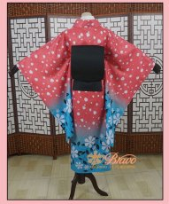 画像4: 鬼滅の刃 猗窩座の妻 恋雪 コスプレ衣装 (4)