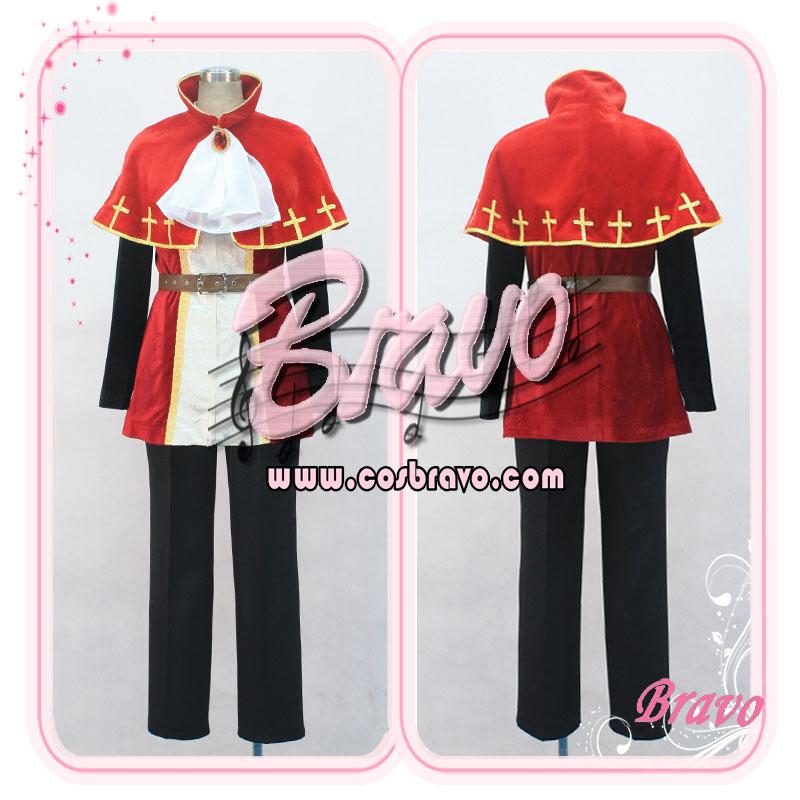 画像1: Sound Horizon marchen テッテレ王子☆薔薇の塔で眠る姫君 コスプレ衣装 (1)