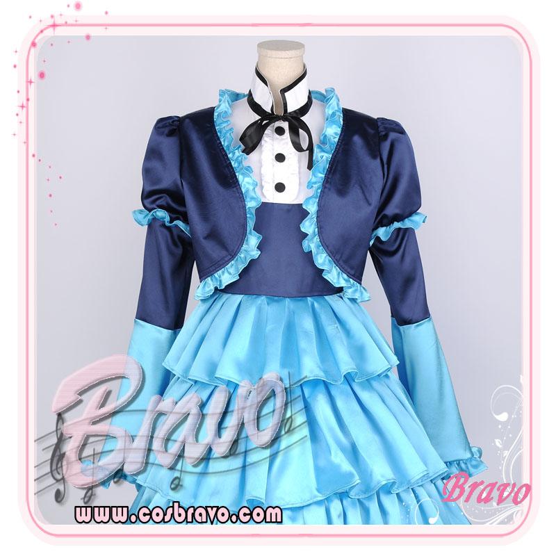 画像1: Sound Horizon 「朝と夜の物語」紫陽花の姫君  コスプレ衣装 (1)