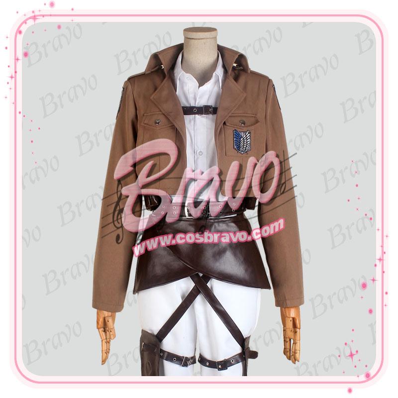 画像1: 進撃の巨人 調査兵団 アルミン・アルレルト 団服  コスプレ衣装 (1)