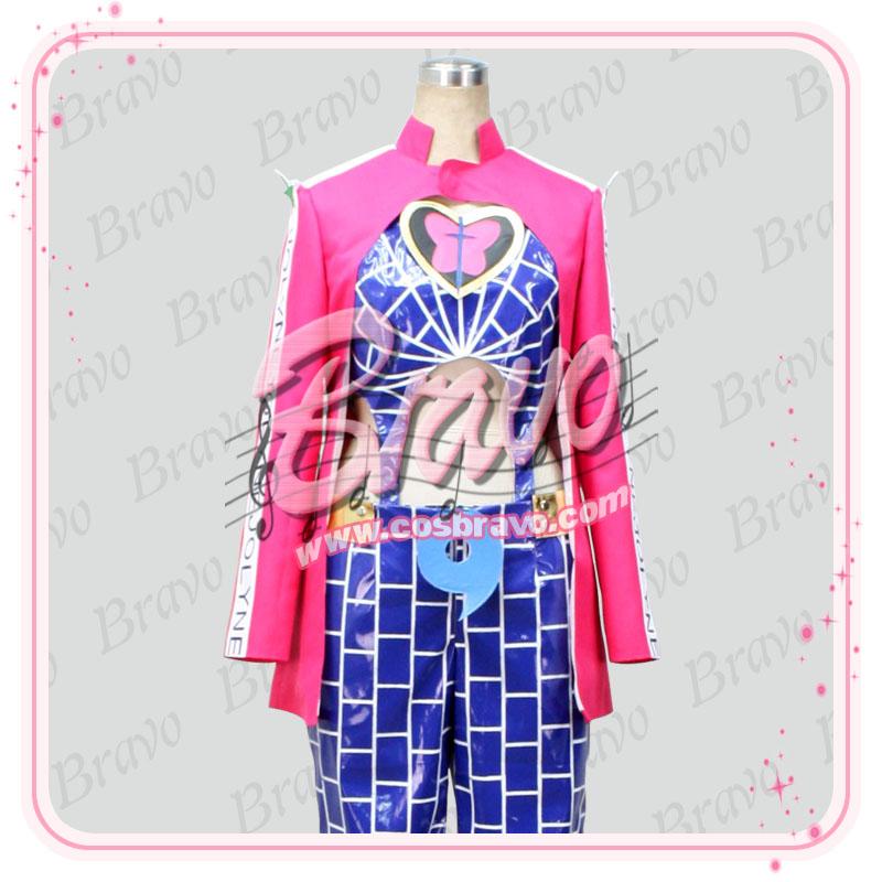 画像1: ジョジョの奇妙な冒険 空条徐倫 セット コスプレ衣装 (1)