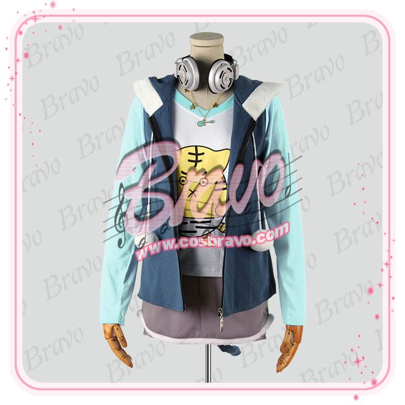 画像1: すーぱーそに子(スーパーソニコ) コスプレ衣装 (1)