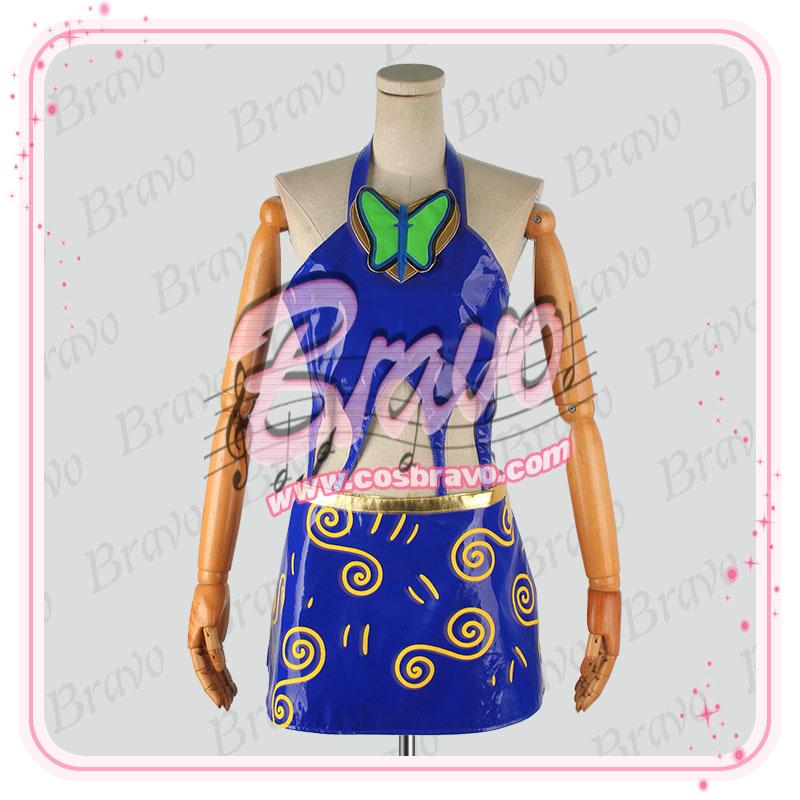 画像1: ジョジョの奇妙な冒険 トリッシュ コスプレ衣装 (1)