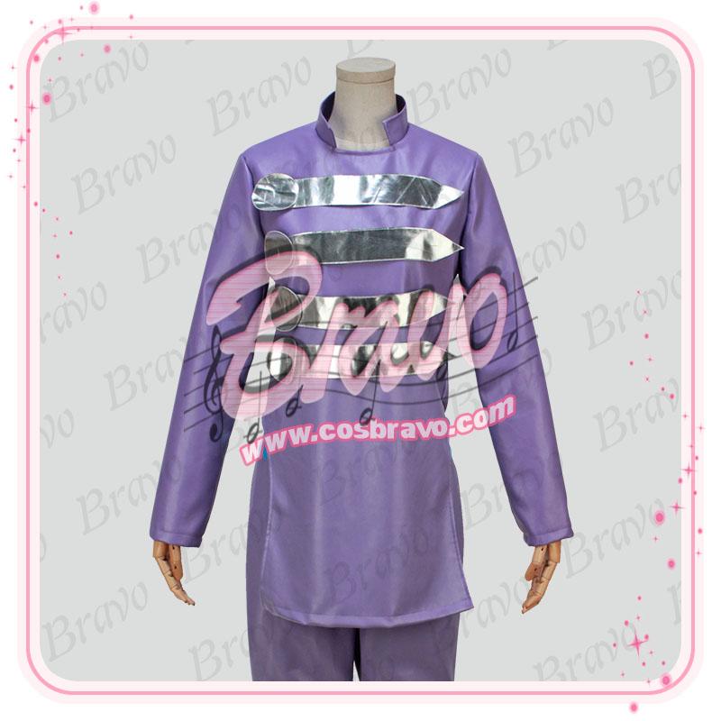 画像1: ジョジョの奇妙な冒険 岸部露伴 コスプレ衣装 (1)