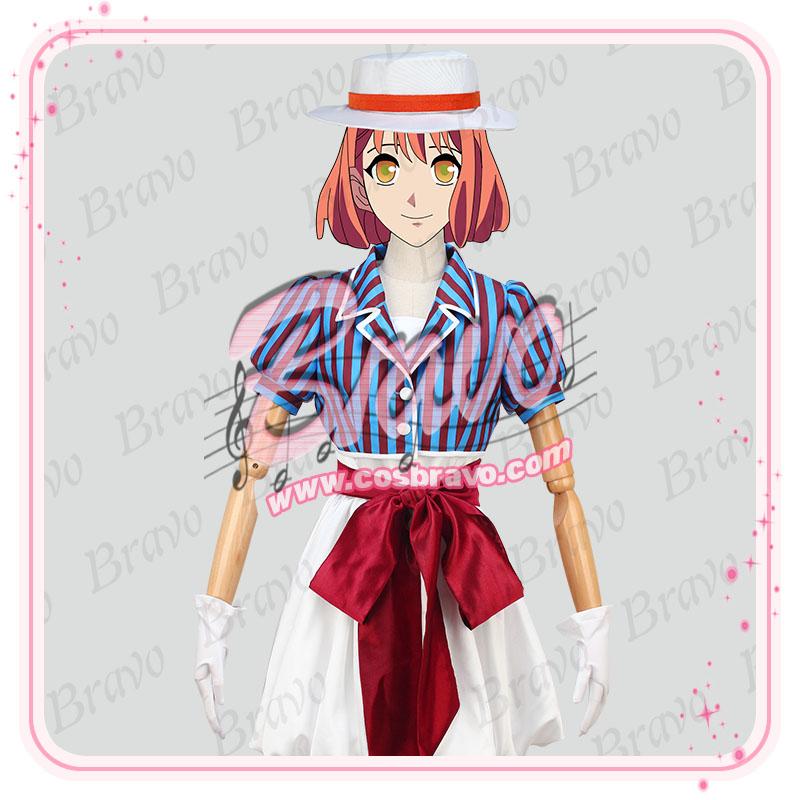 画像1: うたの☆プリンスさまっ♪3期 七海春歌 舞台装 コスプレ衣装 (1)