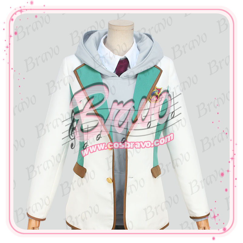 スタミュ 高校星歌劇 辰巳瑠唯 綾薙学園制服 コスプレ衣装