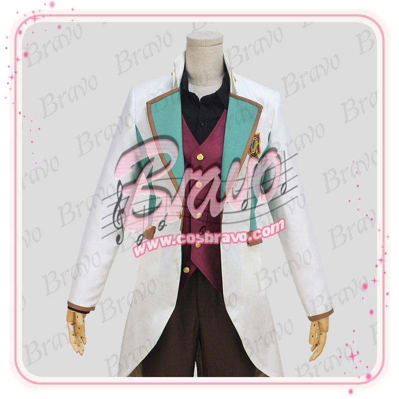 スタミュ 高校星歌劇 鳳樹 綾薙学園制服 コスプレ衣装