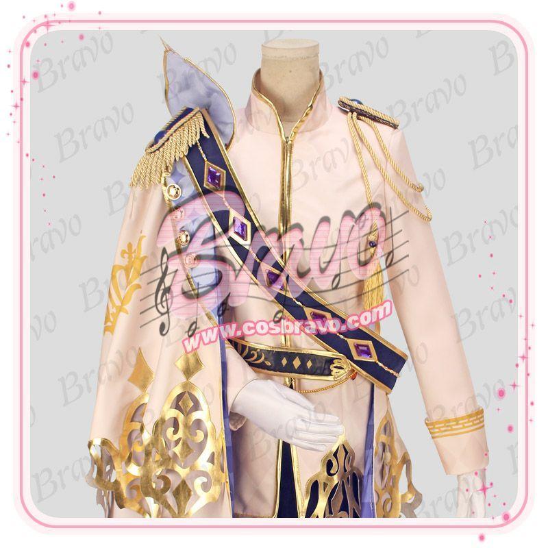 夢王国と眠れる100人の王子様 夢100 アキト 王子様の外遊 太陽覚醒 コスプレ衣装