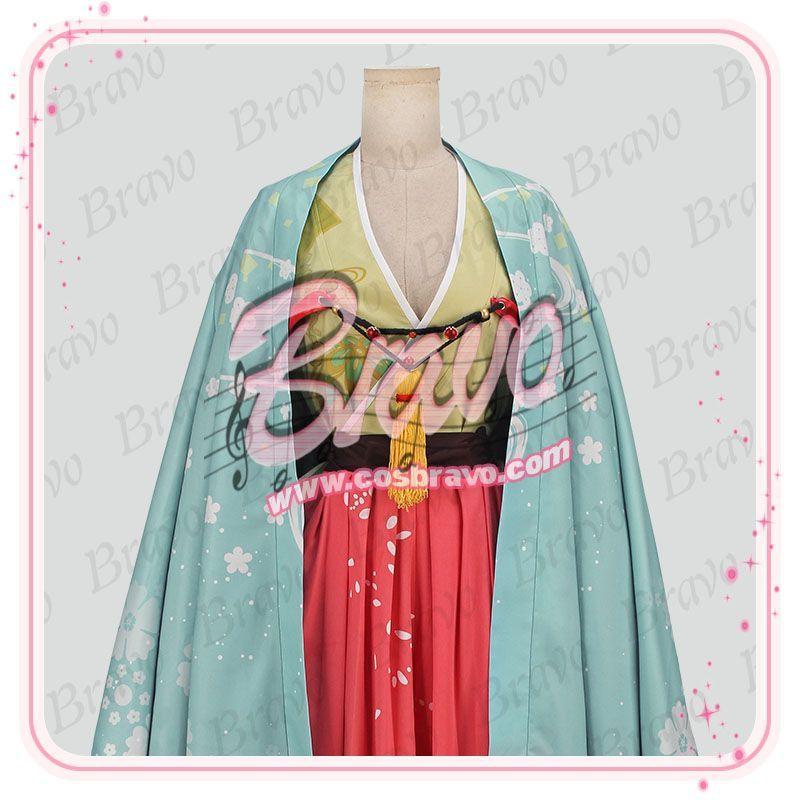 画像1: IDOLiSH7アイドリッシュセブン 大正ロマン 千(ユキ) コスプレ衣装 (1)