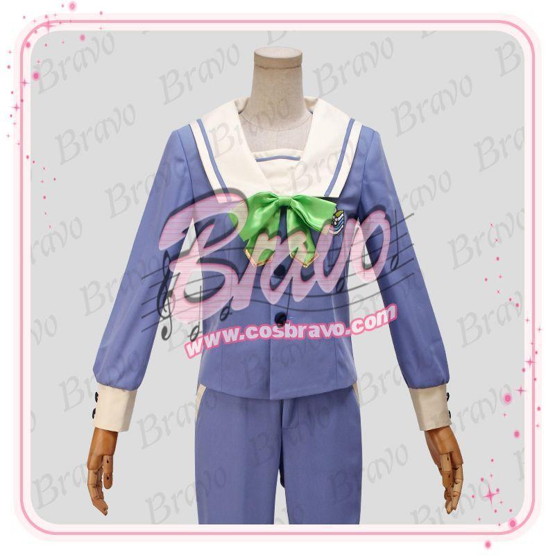 画像1: A3!(エースリー) 夏組 瑠璃川幸 聖フローラ中学校制服 コスプレ衣装 (1)