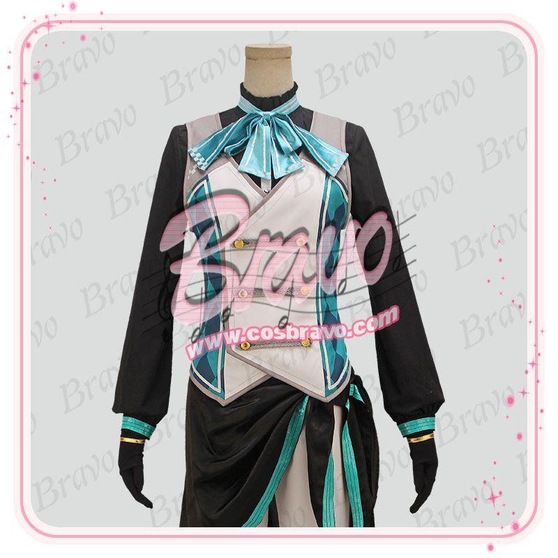 画像1: ツキパラ。 白夜のサーカス 覚醒後 水無月涙 コスプレ衣装 (1)