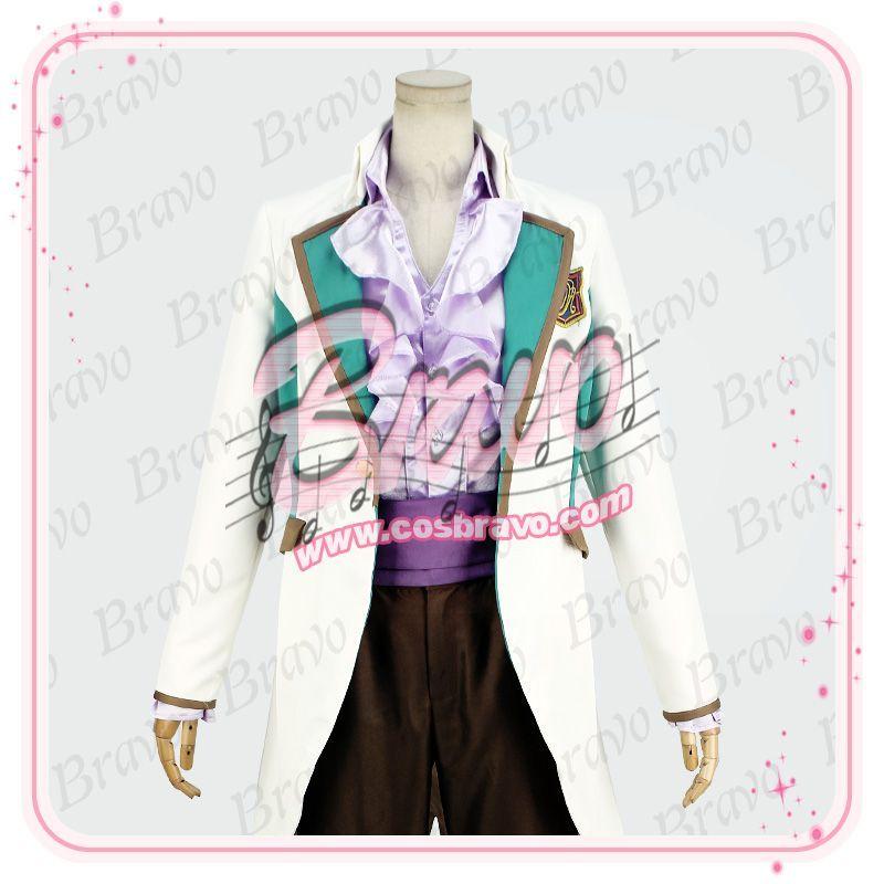 画像1: スタミュ 高校星歌劇 楪=クリスチアン=リオン 綾薙学園制服 コスプレ衣装 (1)