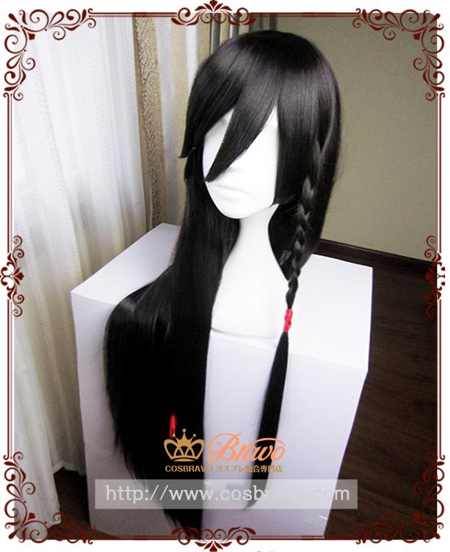 画像1: 刀剣乱舞  和泉守兼定 コスプレウィッグ 髪飾りを含めない (1)