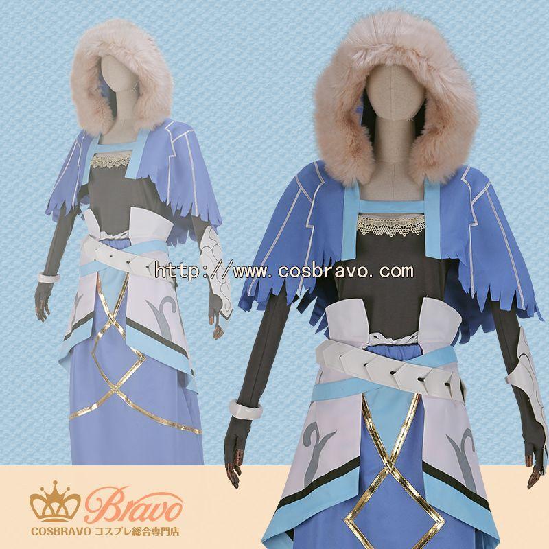画像1: Fate/Grand Order FGO クー・フーリン コスプレ衣装 霊基再臨 第二段階 キャスター (1)