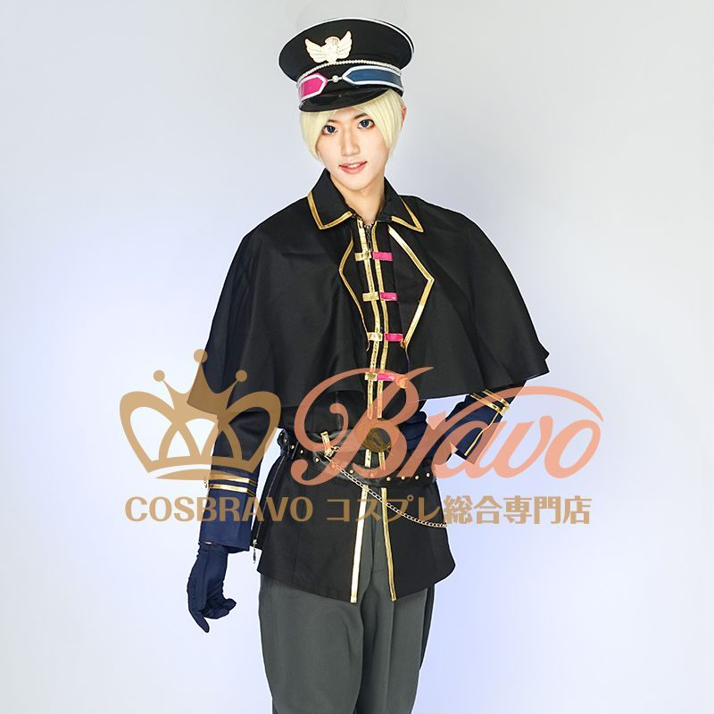画像1: ツキウタ。 TSUKINO EMPIRE(ツキノ帝国) 皐月葵 コスプレ衣装 (1)