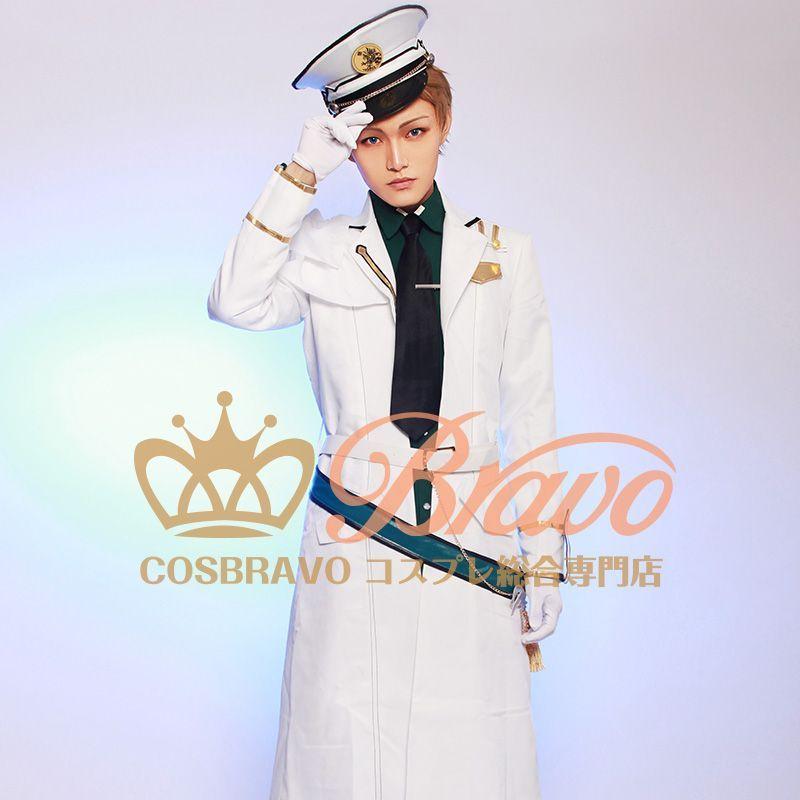 画像1: ツキウタ。 TSUKINO EMPIRE(ツキノ帝国) 文月海 コスプレ衣装 (1)