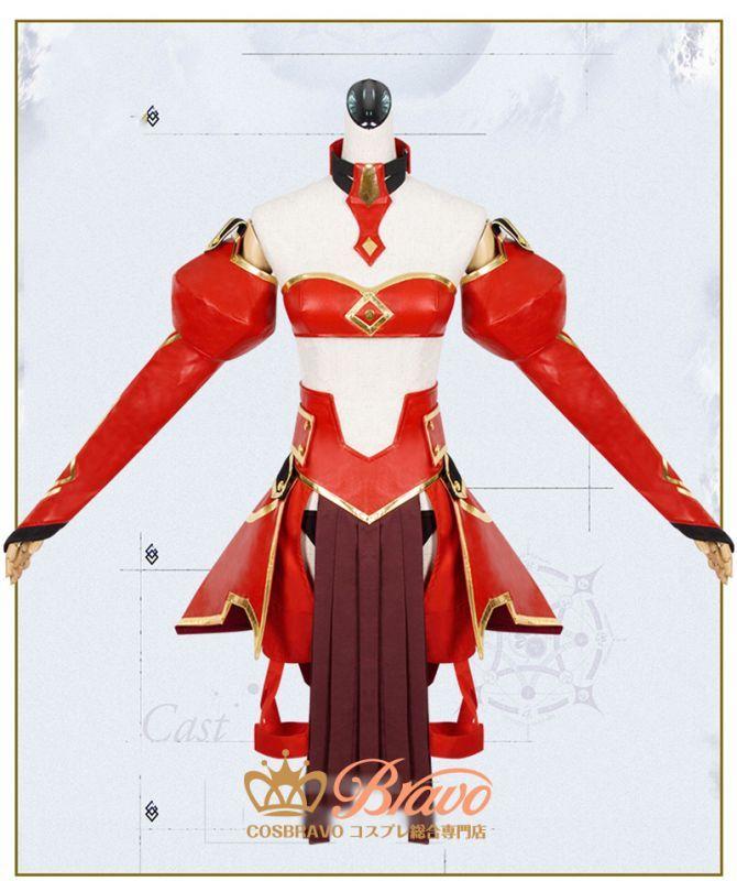 画像1: Fate/Apocrypha 赤のセイバー 霊基再臨 最終再臨 モードレッド コスプレ衣装 (1)