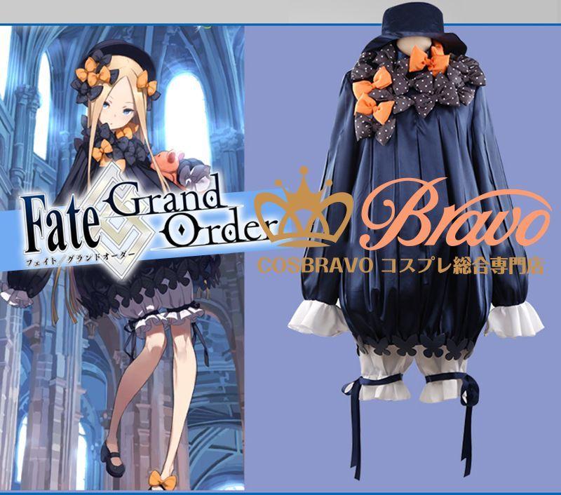 画像1: Fate/Grand Order FGO 霊基再臨 第一段階 アビゲイル・ウィリアムズ コスプレ衣装 フォーリナー (1)