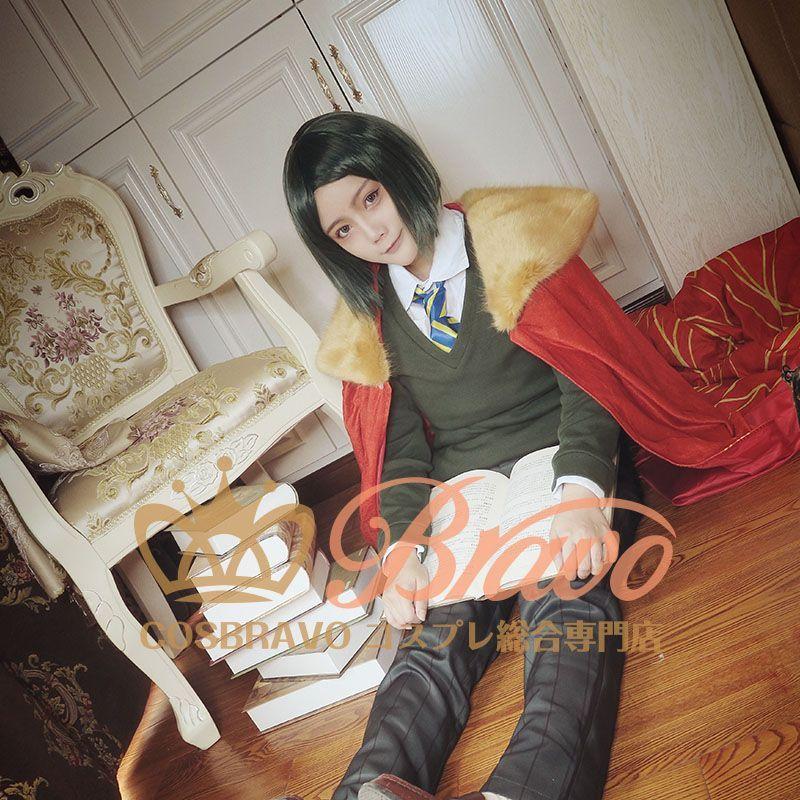 画像1: Fate/Grand Order FGO ウェイバー・ベルベット エルメロイII 諸葛孔明 コスプレ衣装 第三再臨 キャスター (1)