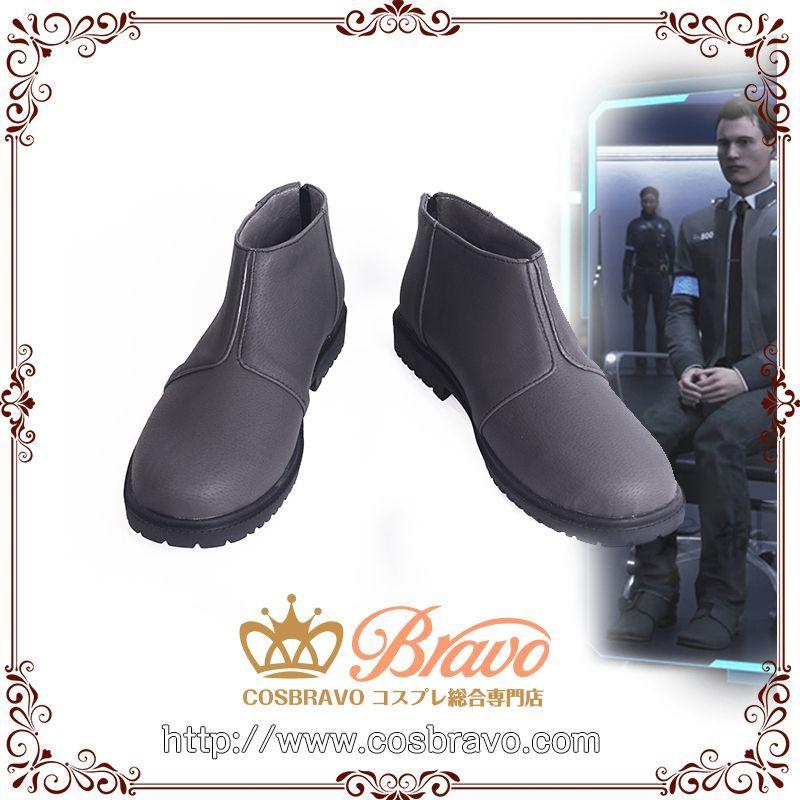 画像1: デトロイト ビカム ヒューマン Detroit: Become Human コナー Connor コスプレ靴 (1)