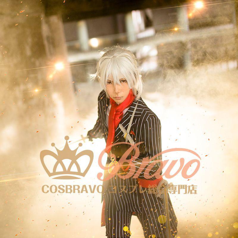 画像1: Fate/Grand Order FGO アントニオ・サリエリ コスプレ衣装 霊基再臨 第二段階 スーツ (1)