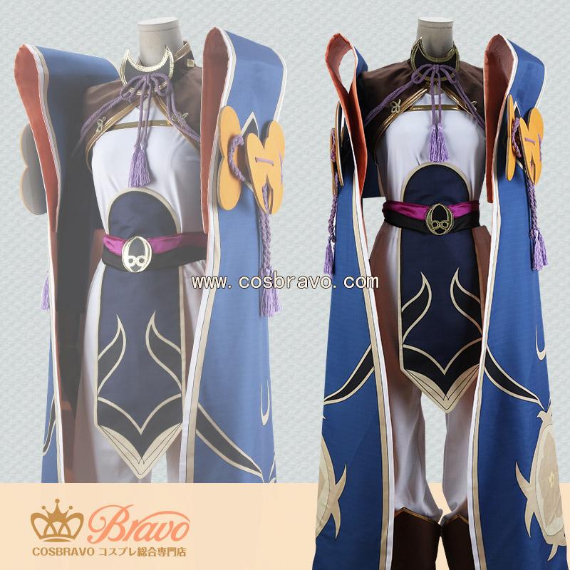 画像1: Fate/Grand Order FGO 蘭陵王 コスプレ衣装 霊基再臨 最終再臨 (1)