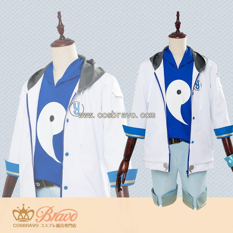 画像1: 非人類学園 銀角 コスプレ衣装 (1)