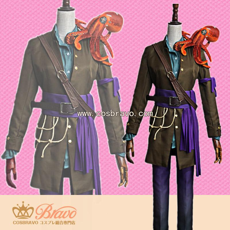画像1: 第五人格 IdentityV 海賊船大工 庭師 エマ・ウッズ コスプレ衣装 (1)