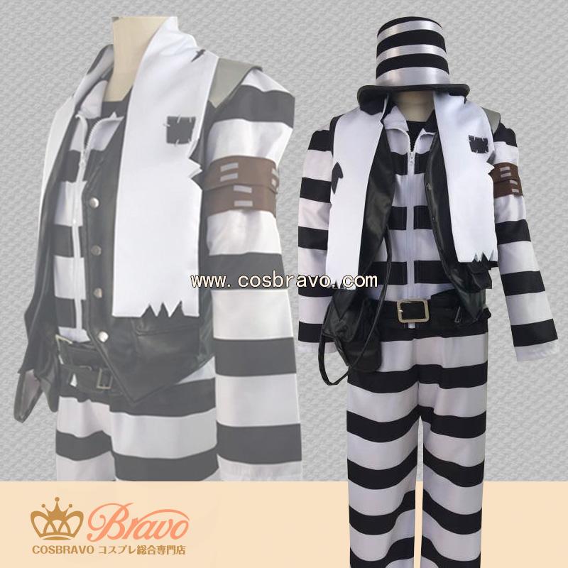 画像1: 第五人格 IdentityV 囚人 道化師 ジョーカー コスプレ衣装 (1)