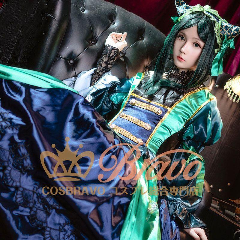 画像1: 黒執事 緑の魔女編 ジークリンデ・サリヴァン コスプレ衣装 (1)