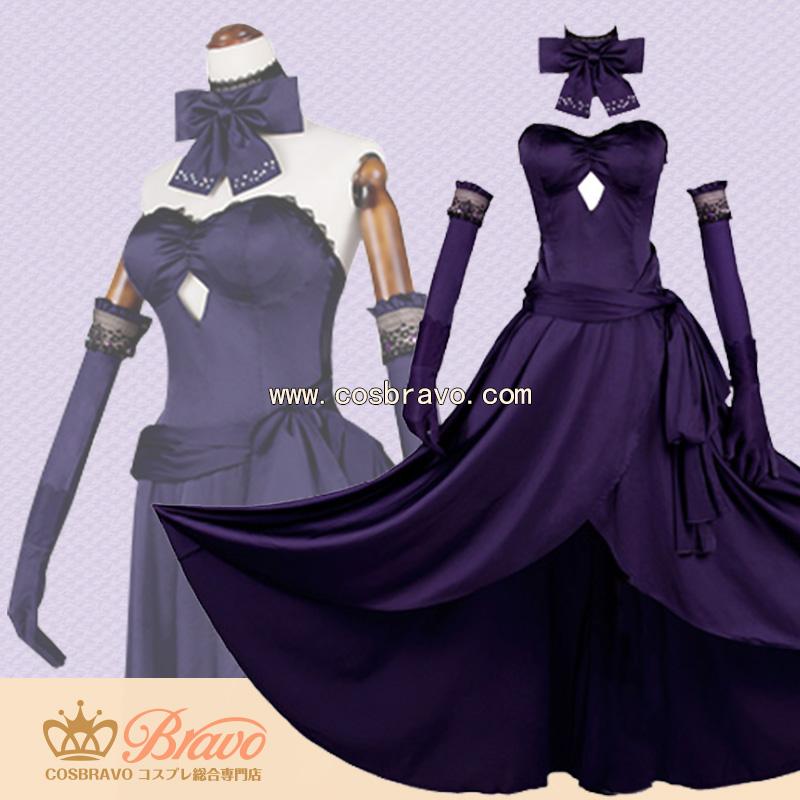画像1: Fate Grand Order FGO 概念礼装 聖夜の晩餐 ジャンヌ・オルタ コスプレ衣装 (1)