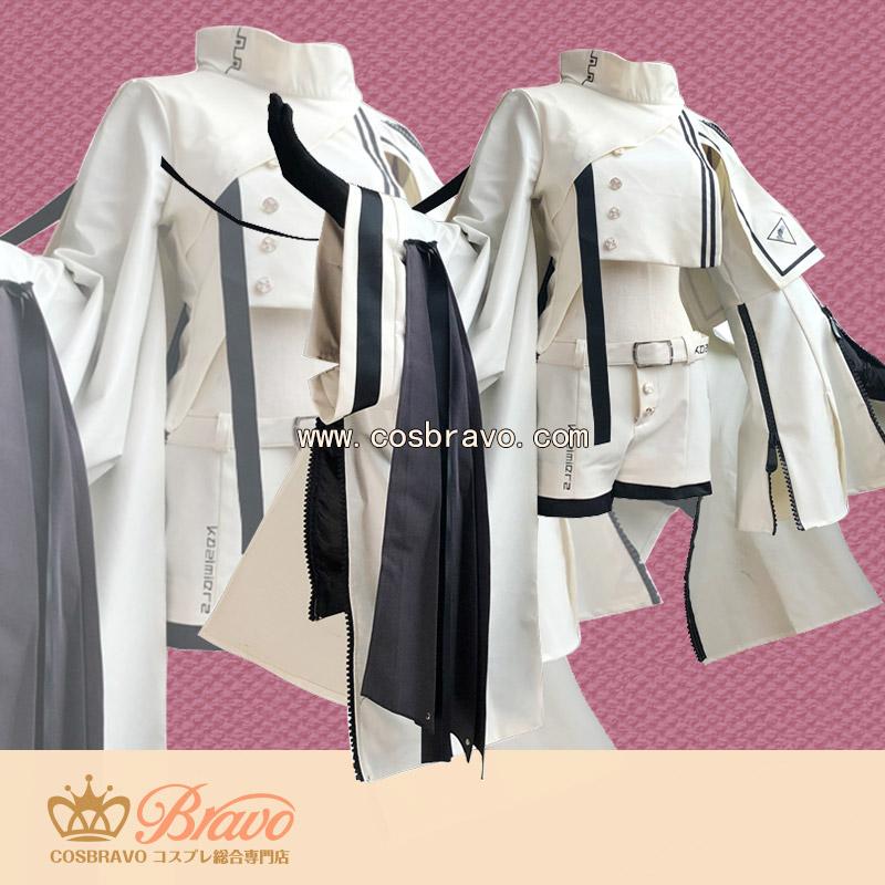 画像1: アークナイツ スナイパー プラチナ/Platinum コスプレ衣装 (1)