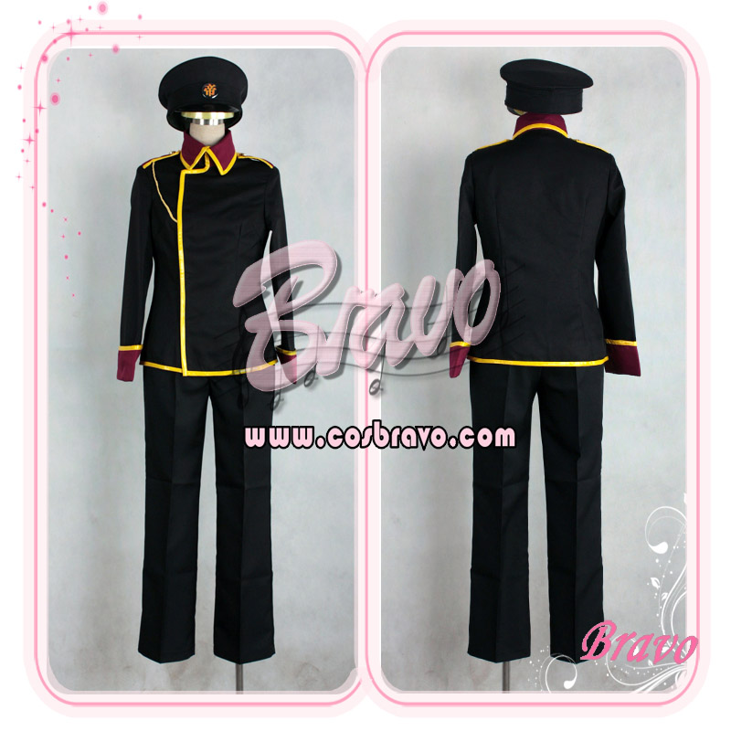 画像1: イナズマイレブン 帝国学園制服 帽子付き コスプレ衣装 (1)