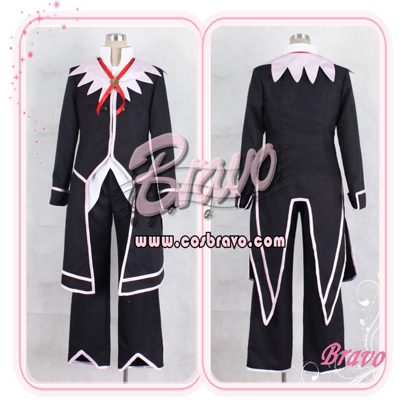 画像1: テイルズオブシンフォニアラタトスク リヒター コスプレ衣装 (1)